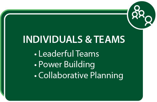 Individuals & Teams: Leaderful Teams, Power Building, Collaborative Planning